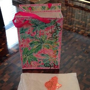 LILLY PULITZER SHOPPING BAG